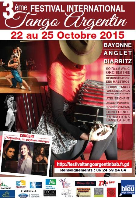 L'affiche du Festival 2015