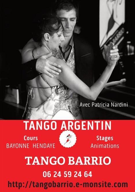 Affiche tangobarrio